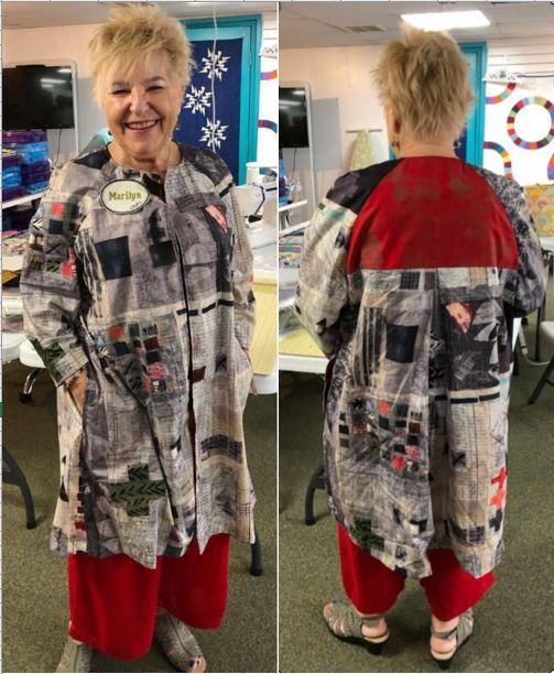 Marilyn Martin - Swing Coat