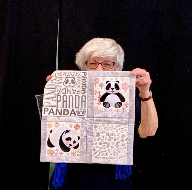 Susan Zuniga 2 Mini Quilt Auction Quilts