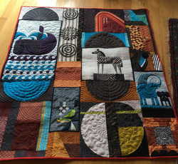 Mary Kirchoff - Improv Quilt