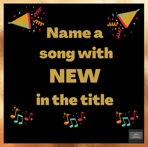 Facebook engagement. Music Game: name a song with...