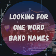 one word band names game