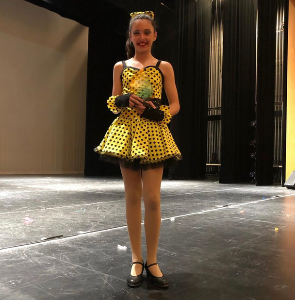Sierra Guzzo - the 2019 Julia Riccobenne Award recipient