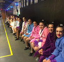 Waiting before the opening number