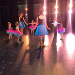 Creative Ballet 1's first time on stage