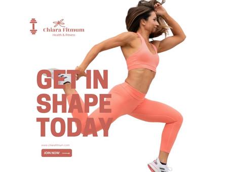 Get back in shape after summer