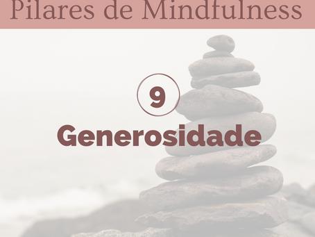Pilar 9 - Generosidade