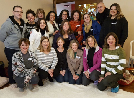 Experiências colidas no workshop Mindful Eating