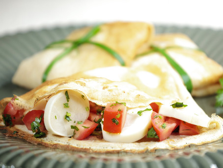 Panquecas Vegetarianas