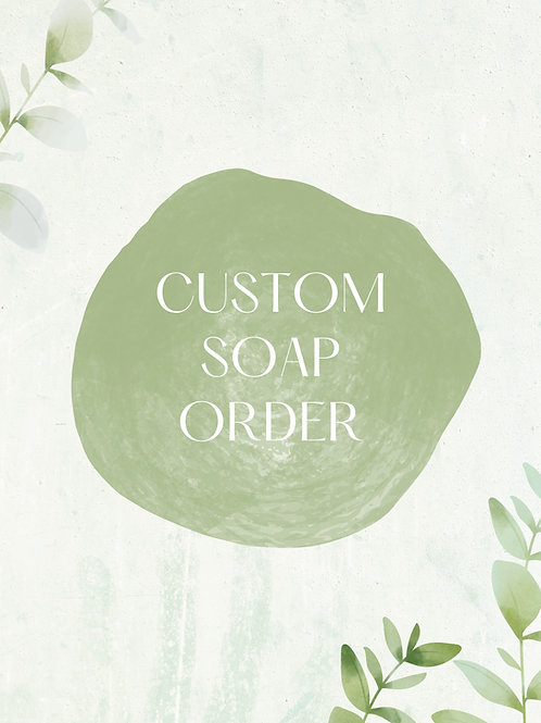 Summer Custom Soap collection