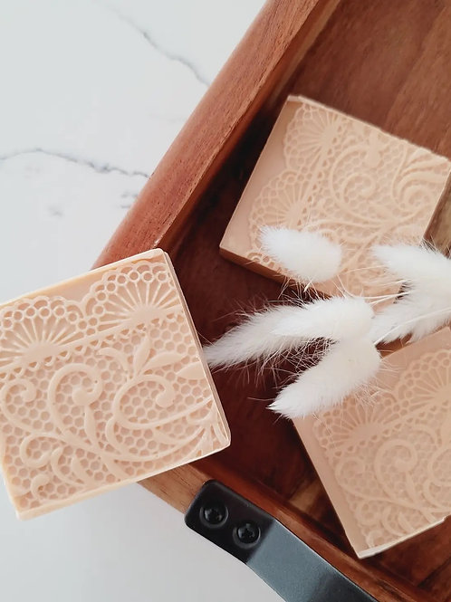 Coconut Rose Milk soap