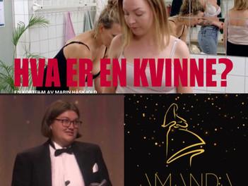 """""""Hva er en kvinne?"""" vinner Amandapriset för bästa kortfilm"""