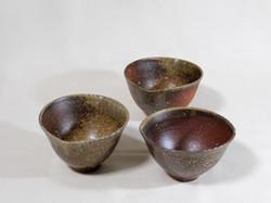 薪窯焼き締め 楕円 中鉢