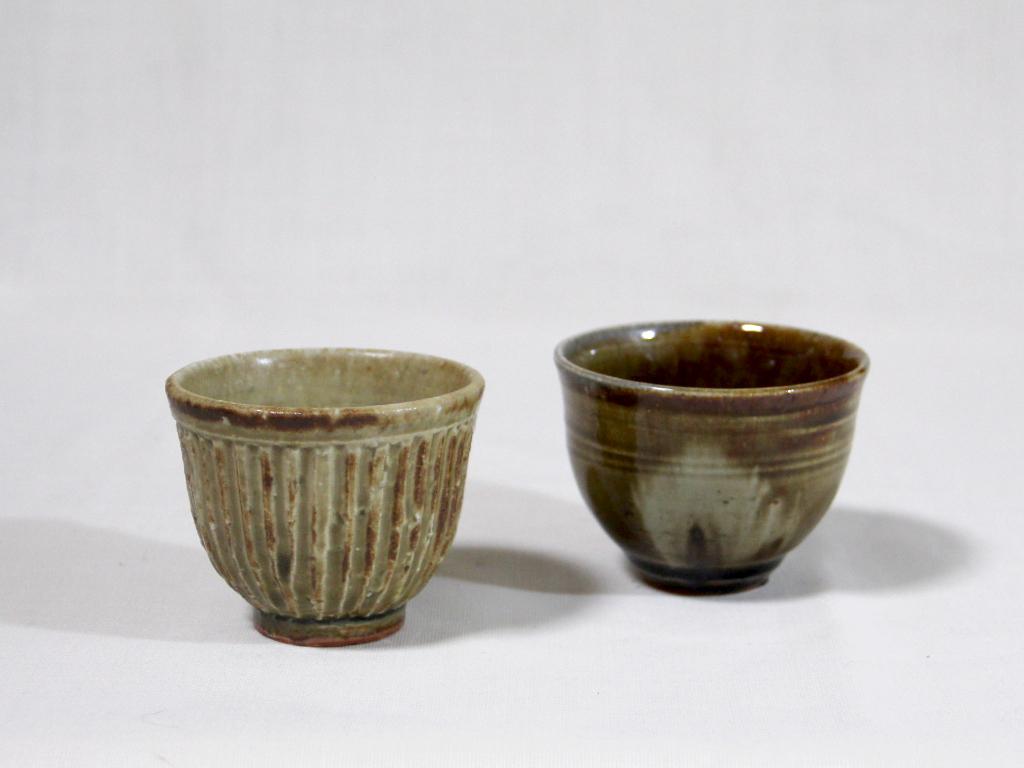 薪窯施釉 くみ出し茶碗
