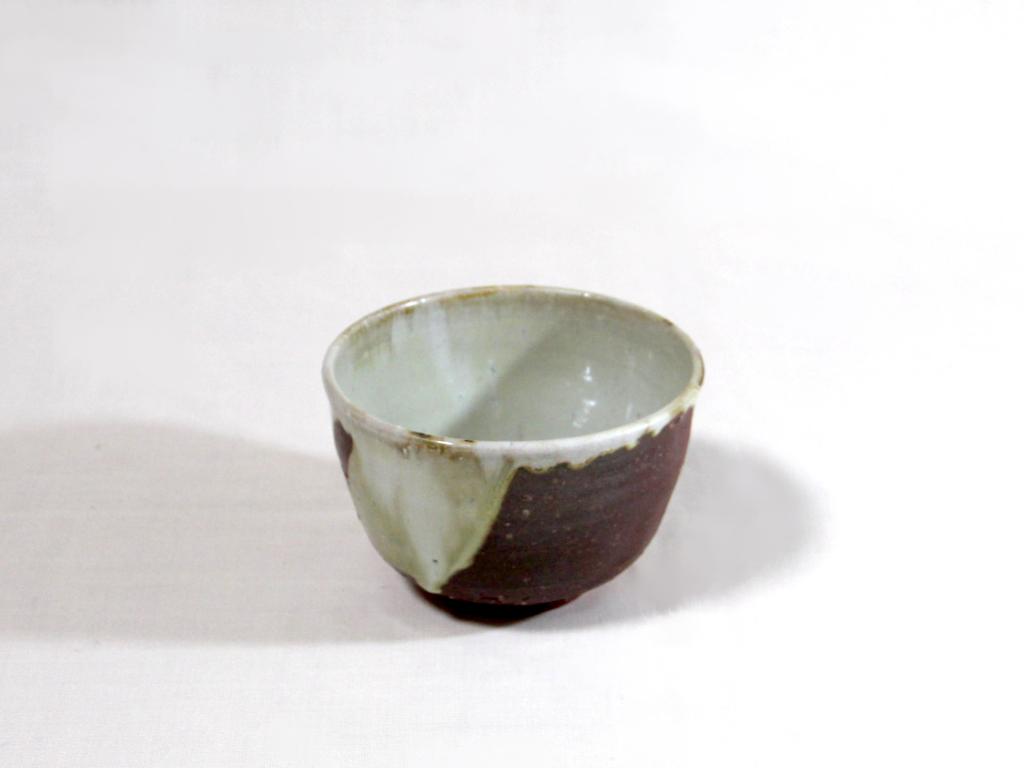 薪窯施釉 中鉢