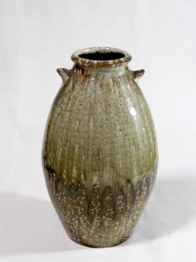 薪窯焼き締め 花器