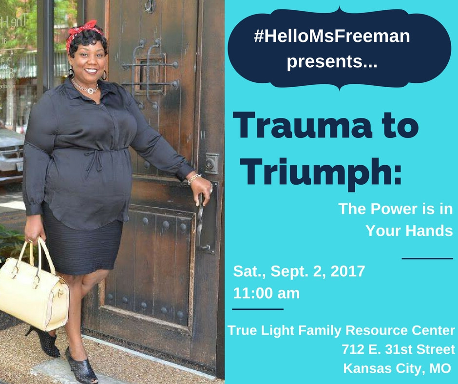 Join us at Emancipation Station to learn how to better yourself or help others to better themselves through a workshop given by Ms Freeman