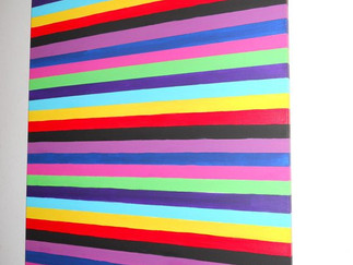 Rainbow stripes sold 2012