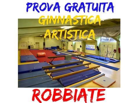 Chiuse le iscrizioni alle lezioni di prova di ginnastica artistica 2021-2022
