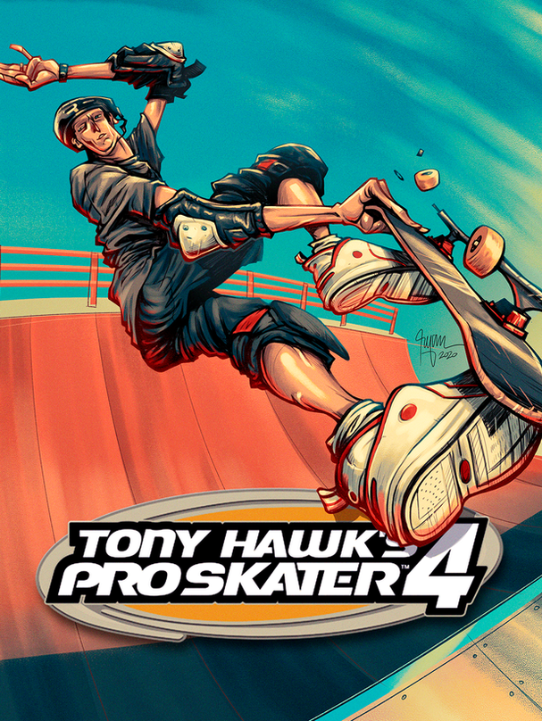 TONY HAWK PRO SKATER 4