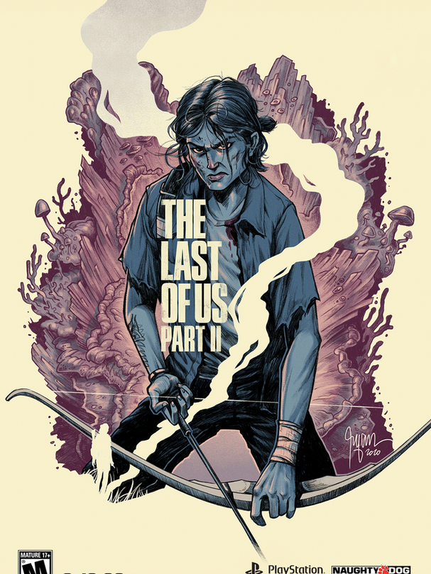 THE LAST OF US II POSTER