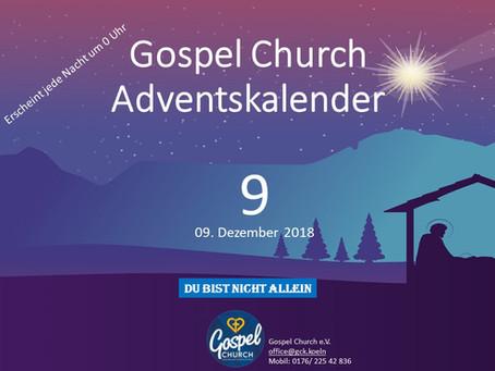 Tag 9 zweiter Advent