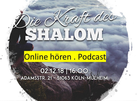 Die Kraft des Shaloms - Predigt online hören