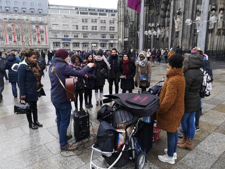 Outreach am 16.12.2018 auf der Kölner Domplatte