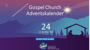 Frohe Weihnachten Jesus.Tag 24 Heiligabend Frohe Weihnachten