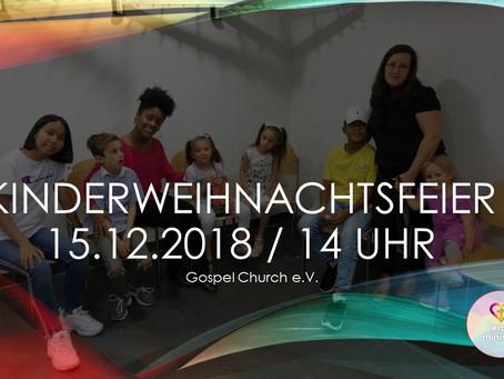 Kinderweihnachtsfeier der Gospel Church e.v.