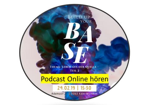 Leben aus der Quelle des Lebens – Teil 2 Online Hören