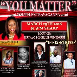 YOU MATTER YOUTH CONFERENCE