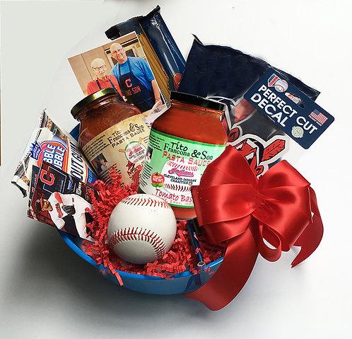 Tito Francona & Son Pasta Sauce Gift Basket Now with Tomato Basil