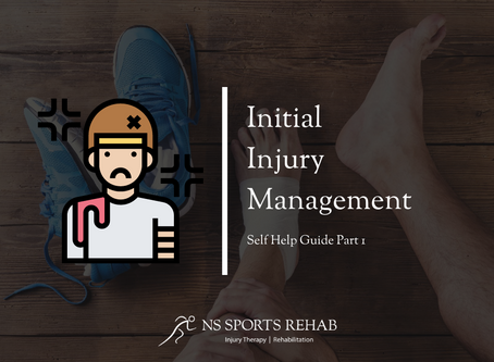 Initial Injury Management - Self Help Guide Part 1