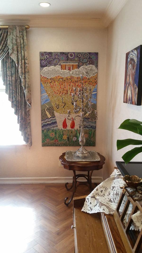 Crown Heights anniversary mosaic