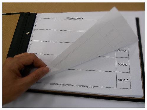 Livro de Canhotos de Notas Fiscais
