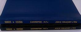 Livro de canhotos Fisco