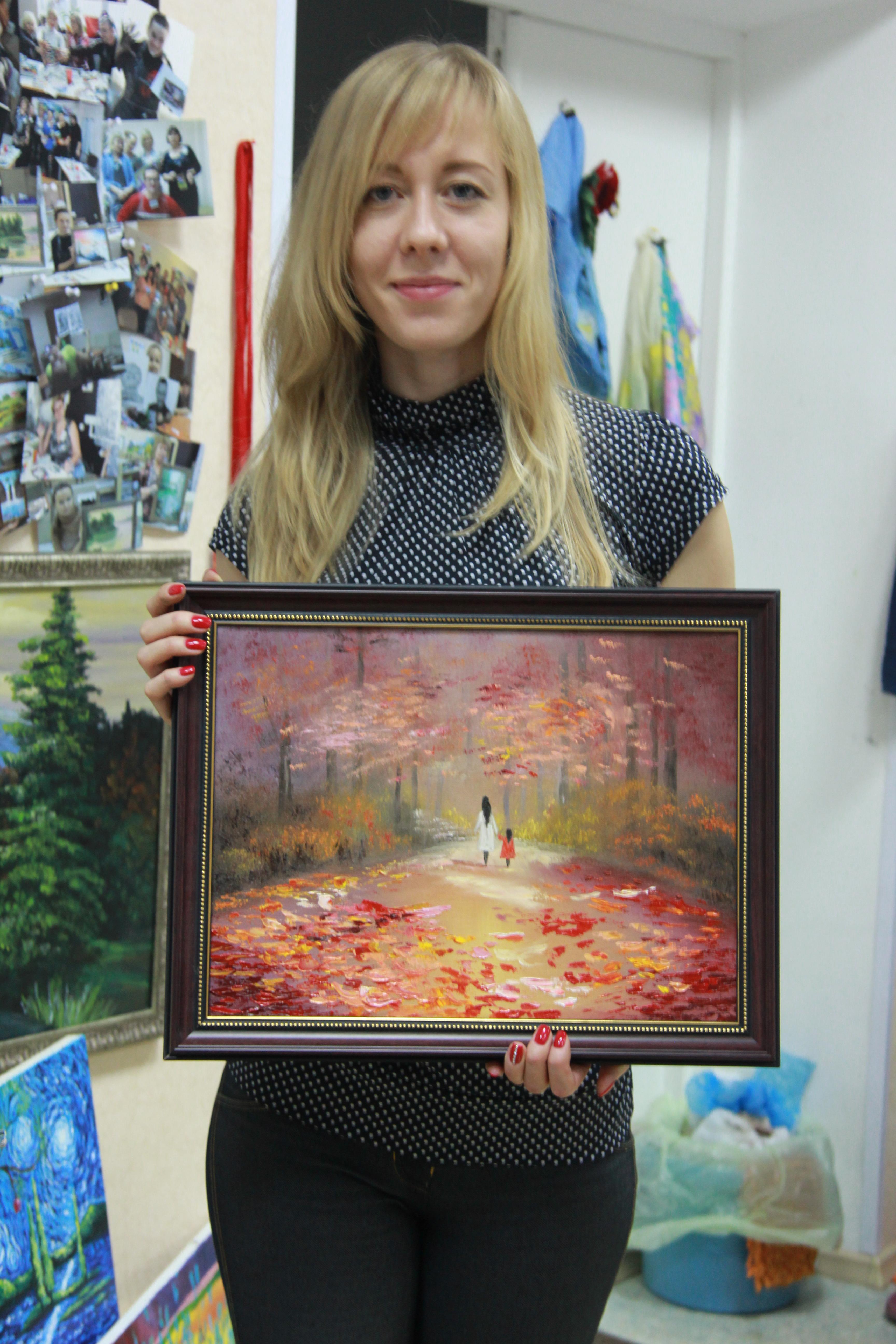 Осенняя аллея и дебют!