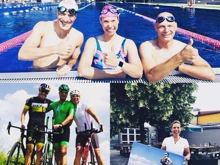 Trainingstag mit Triathlon Weltmeister Sebastian Kienle