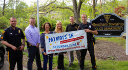 Patriots' Race PBA donation 2017