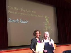 Awarding Scholarship