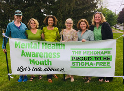 Stigma-Free Task Force with banner