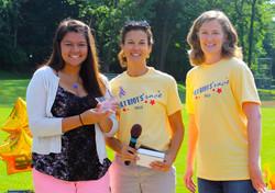 Patriots' 5K Race scholarship award