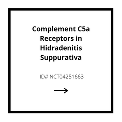 Complement C5a Receptors in Hidradenitis Suppurativa