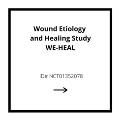 Wound Etiology and Healing Study WE-HEAL