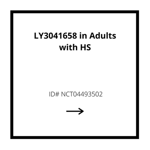 LY3041658 in Adults with HS Study