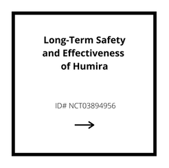Long-Term Safety and Effectiveness of Humira Study