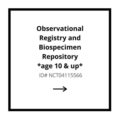 Observational Registry and Biospecimen Repository