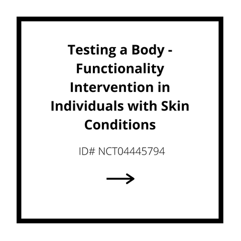 Testing a Body - Functionality Intervention in Individuals with Skin Conditions