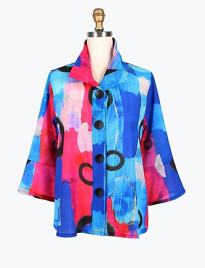 Damee - 4624 Abstract Circle Jacket