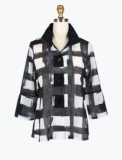 Damee - 4621 Buffalo Check Jacket